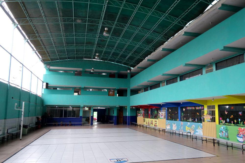 Patio del Colegio - Vista de salida