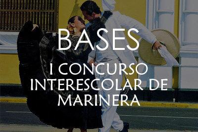 Bases del I Concurso Interescolar de marinera