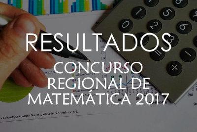 Resultados de Examenes del Concurso Regional de Matemática 2017
